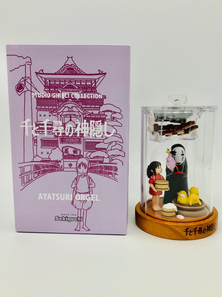 Studio Ghibli Spirited Away Puppet Music Box height of about 13.5cm